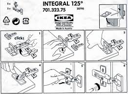 Ikea Instruction Manuals Ikea Is Big Into Information Design Because Of The Multi Cultural