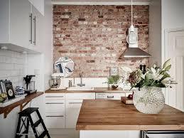 tiles fake brick wall panels kitchen gorgeous