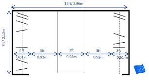 walk in closet dimensions. Large Walk In Closet Design With Slim Peninsula Dimensions Z