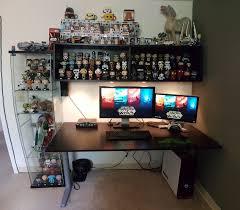 star wars desk setup