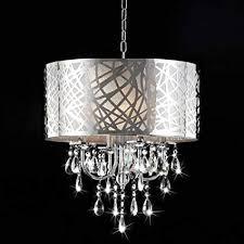 brilliant chrome crystal chandelier of 4 light com
