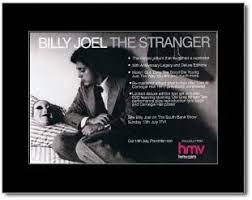 Joel also makes a point in the line 'why were you so surprised that you never saw the stranger? Amazon Com Music Ad World Billy Joel The Stranger Mini Poster 21x13 5cm Prints Posters Prints