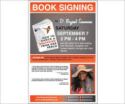 18 Best Sample Author Posters Images On Pinterest Book Signing