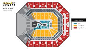 Golden 1 Center Basketball Seating Chart Katy Perry Golden1center
