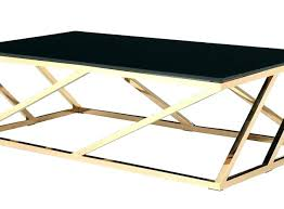 side tables cage side table rose gold modern and black glass coffee champag cage side table