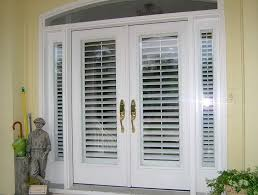 doors with blinds beautiful exterior french doors with built in