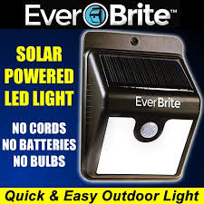 Everbrite Solar Light Not Working Everbrite Motion Activated Outdoor Led Light