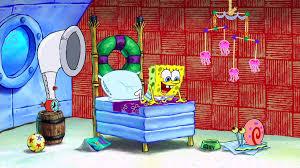 SpongeBob's bedroom