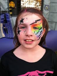 rock star face painting rachel s face painting in ky face painting