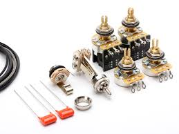wiring kits for electric guitars toneshapers wiring kit les paul standard vintage wiring push pull tone pots