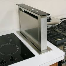 stove with downdraft vent. Modren Downdraft Sirius SUDD3 SideMounted Downdraft Ventilation Range Hood Stainless  Steel 4 Speed Touch With Stove Vent I