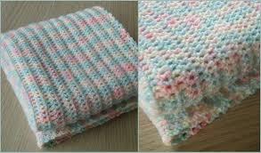 Easy Baby Blanket Crochet Patterns Best Decorating Design