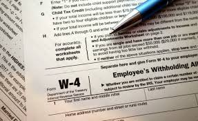 w4 form pa new tax law 2018 should you change your w 4 avvostories