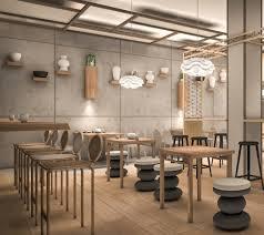 interior designer. Japanese Cafe Interior Project Designer R