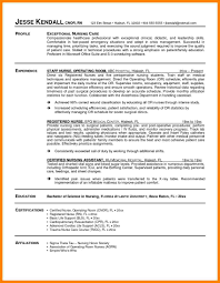 Student Nurse Resume Cover Letter 100 Operating Room Nurse Cover Letter Address Example 48