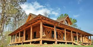 small log home plans with loft luxury log cabin floor plans with wrap around porch 2
