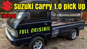 (a) a handling charge of eight. Suzuki Carry Pickup Orisinil Youtube