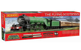 hornby flying scotsman train set