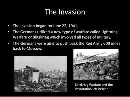 And germany began on june 22, 1941, with operation. Invasion Of The Soviet Union