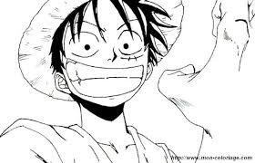 Colorare Manga Disegno One Piece Cappello