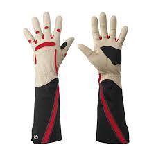 bionic rose gauntlet gloves womens