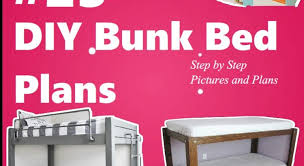 39 diy bunk beds and loft bed plans kids and teen bedroom ideas