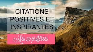 50 Citations Positives Et Inspirantes