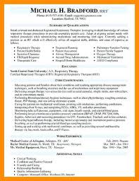 Resume For Respiratory Therapist Respiratory Therapy Cover Letter