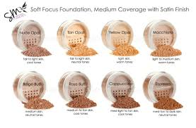 Skin Tone Color Chart Foundation Color Charts Southern Magnolia Mineral Cosmetics