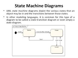 state machine diagramuml  state machine diagrams