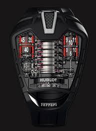 futuristic watches hublot mp05 front