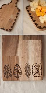 wooden cutting boards between traditional and modern