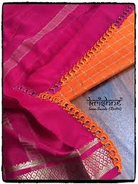 Ksic Saree Designs Ksic Silk Saree Kuchu Saree Kuchu Designs Saree Tassels