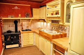 Interesting Red Country Kitchens French Kitchen Colors Photo 3 Color Ideas Throughout Modern
