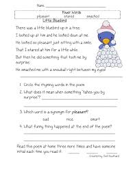 Reading Comprehension Worksheets For Second Grade Worksheets for ...