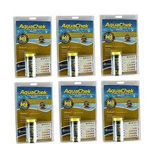 Aquachek Select Color Chart Amazon Com 6 New Aquachek Select 541604 Swimming Pool Spa
