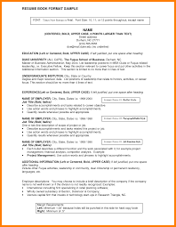 Resume Title Examples 10 Resume Title Samples Activo Holidays