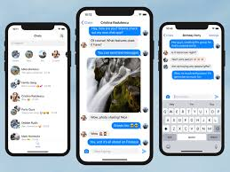template phone chat ios app template in swift