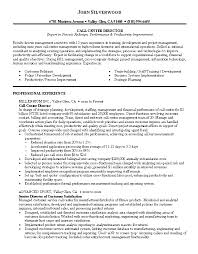 Call Center Floor Manager Sample Resume