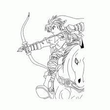 Legende Van Zelda Kleurplaten Leuk Voor Kids