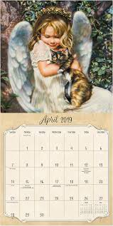 2007 angel asian calendar wall