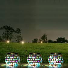 Lamp Light Socket Picture  More Detailed Picture About Mosaic Solar Mosaic Garden Lights