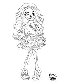 Monster High Coloring Pages Printable Free At Getdrawingscom Free