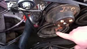 how to install a power steering belt talk through chevrolet how to install a power steering belt talk through chevrolet truck c10