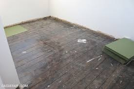 diy how to lay underlay laminate wood flooring my thrifty life by cassiefairy