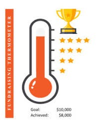 Fundraising Chart Ideas 12 Fundraising Thermometer Goal Templates Free Printable
