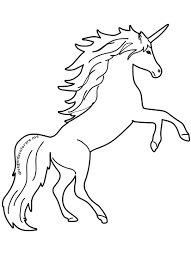 Immagini Unicorno Da Disegnare Disegni Da Colorare Per Bambini