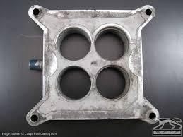 Carburetor Spacer Plate - 4V - 289 / 302 / 351W - Used ~ 1967 ...