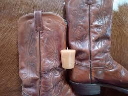 votive tooled leather