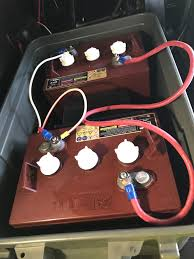 rv batteries 12 volt vs 6 volt rvhelponline com many rv owners after owning their trailers for awhile will upgrade their batteries to 2 6 volt batteries they run them in series which will get you your 12